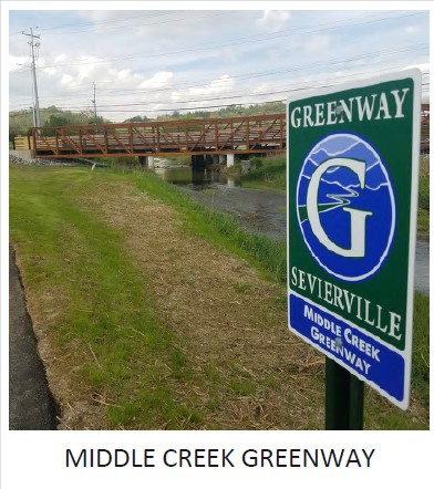 Middle Creek Greenway Phase III Completed; John Sevier Memorial Grove Construction Underway