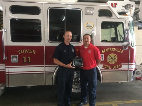 Sevierville Fire Department Named Safety Partner of the Year