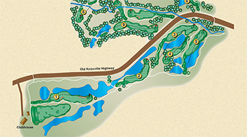 Highlands Front Nine Map 360