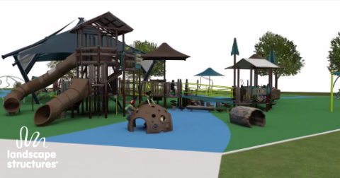 New Playground as proposed