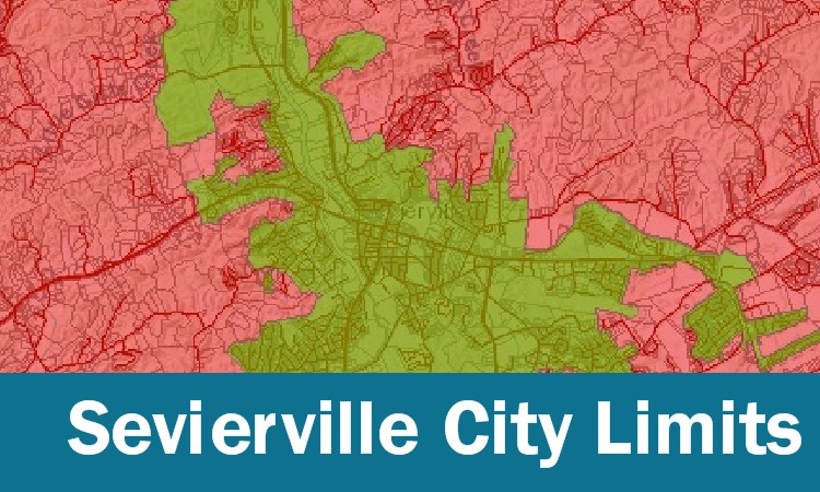 Sevierville City Limits