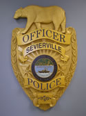 Photo of Sevierville Police Department Badge